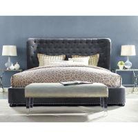 1000+ ideas about Velvet Bed Frame on Pinterest | Silver ...