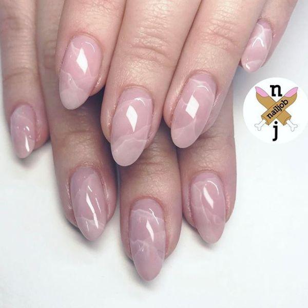 25 Dusty Pink Nail Idea Ct Hair Nail Design Ideas