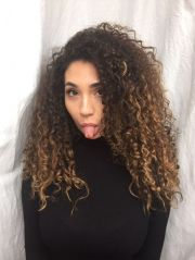 amazing ombre highlights natural