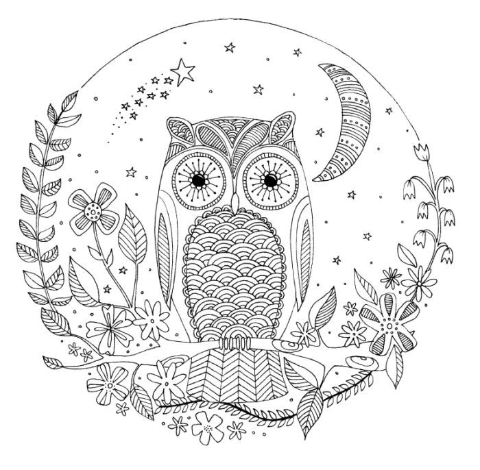 285 best images about Adult Coloring Pages on Pinterest