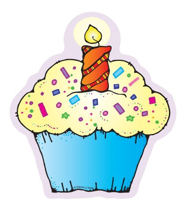 1220 cupcake- clip art