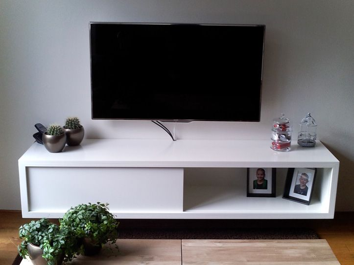 Make it yourself floating modern TV stand by NeoEko