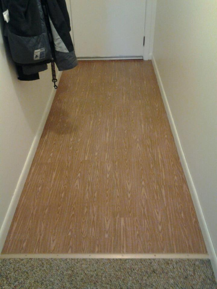 TEMPORARYContact Paper wood floors Cut wood grain