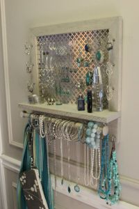 1000+ ideas about Wall Mount Jewelry Organizer on ...