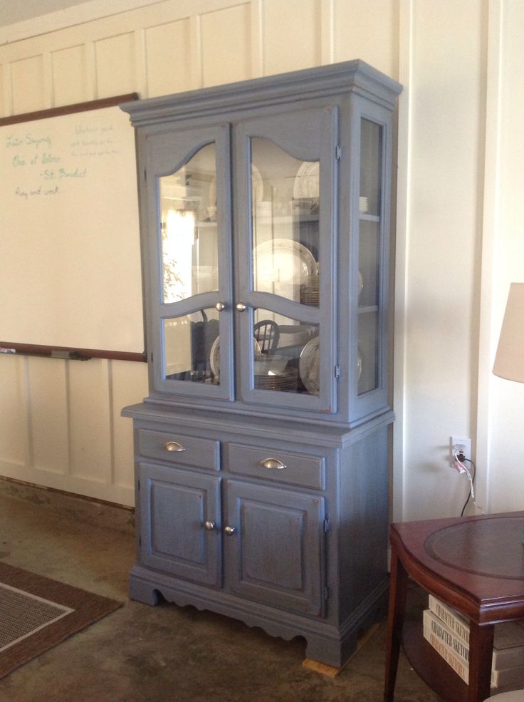 My new craigslist purchase I used chalk paint from lowes