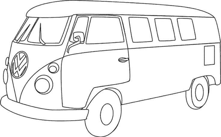 VW camper. I like this image, You can give it your