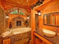 Awesome log home bathroom! | Favorite Places & Spaces ...
