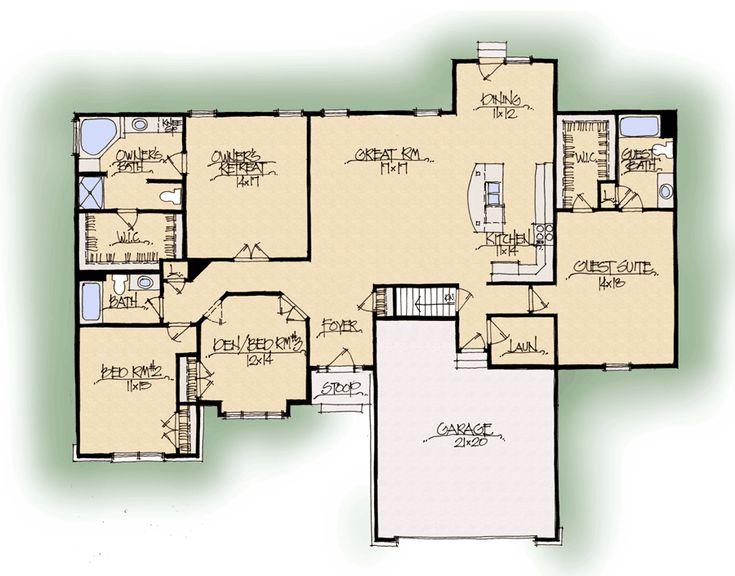 Oakley C Dual Master Suite - Midwest