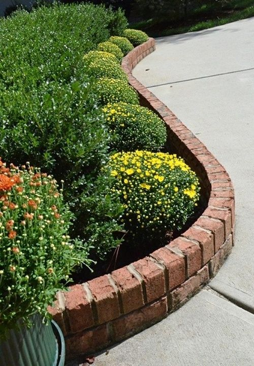 25 Best Ideas About Brick Garden Edging On Pinterest Brick