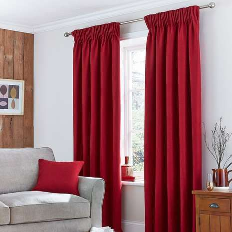 The 25 Best Ideas About Red Curtains On Pinterest Red Accent