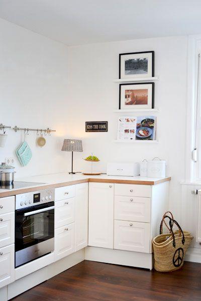small kitchen appliance update cost estimate küche ohne hängeschränke | pinterest