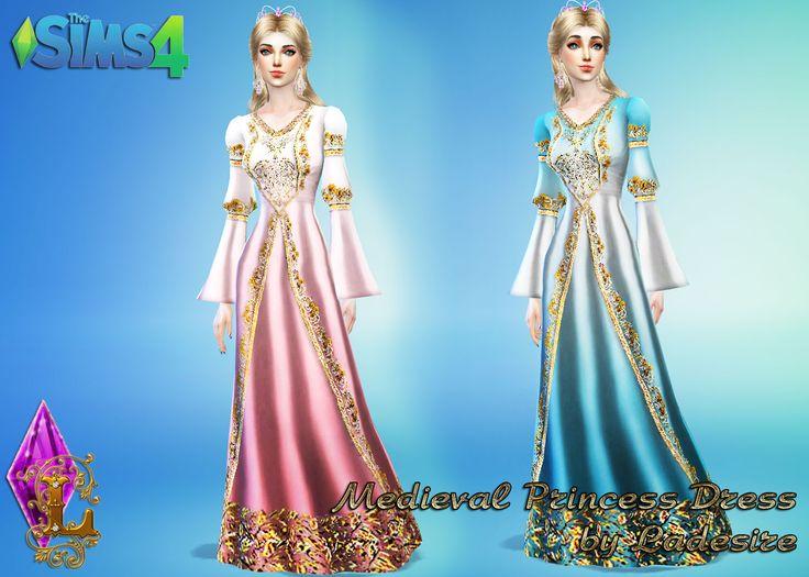Ladesires creative corner TS4  Medieval Princess Dress