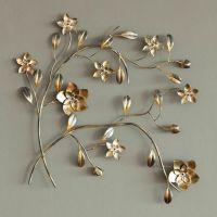 Metal Flower Wall Art - large metal flower wall art ...