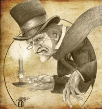 Ebenezer Scrooge   A Christmas Carol   Pinterest ...