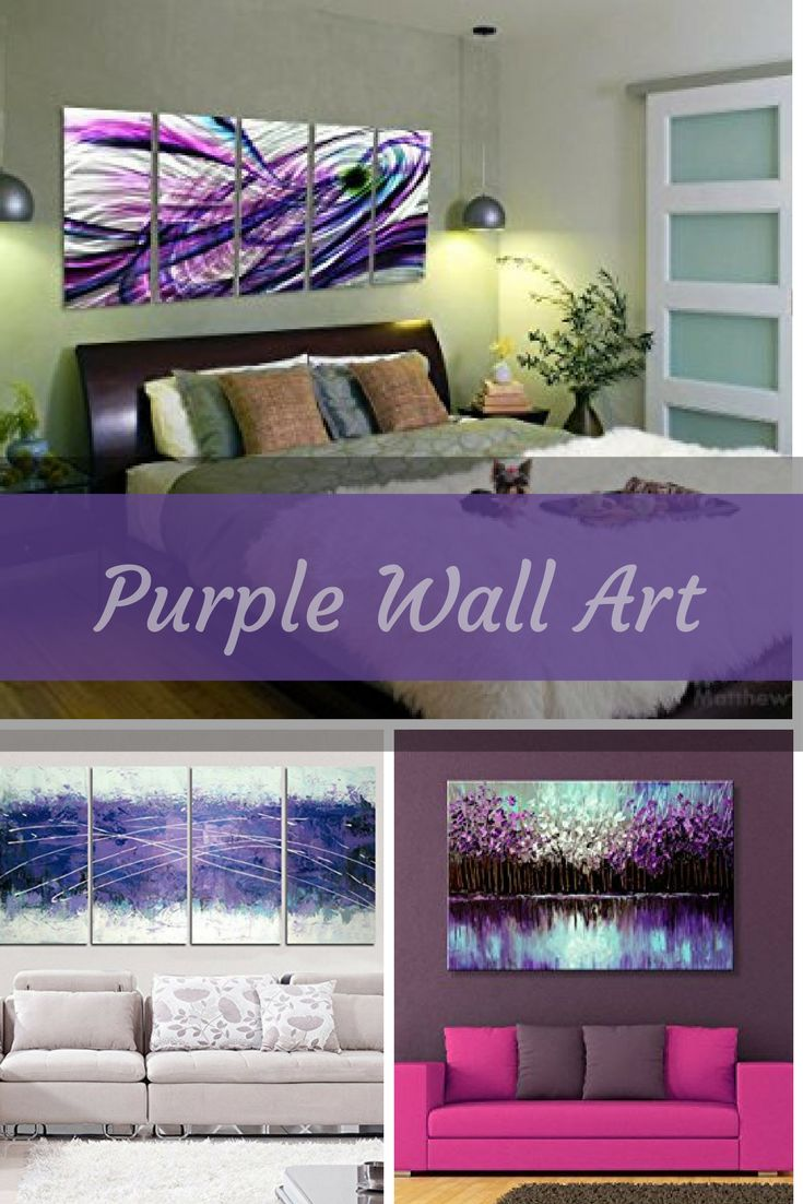 25+ best ideas about Purple Accent Walls on Pinterest