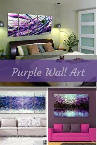 25+ best ideas about Purple Accent Walls on Pinterest