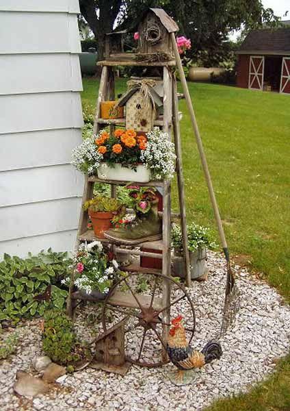 25 Best Ideas About Outdoor Garden Decor On Pinterest Garden