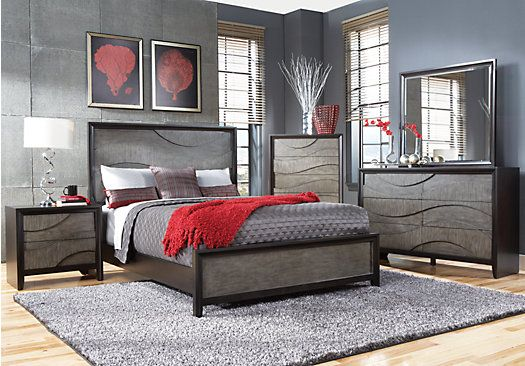 discount marbella 5 pc queen bedroom set   home decor inspiration