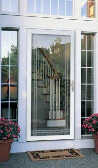 Storm door. double bevel glass classic full view. Larson ...