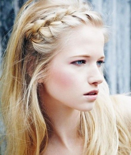 25 Best Ideas About Braid Bangs On Pinterest French Braid