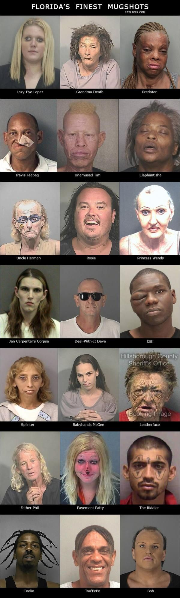 Florida's Finest Mugshots – Seriously, For Real?