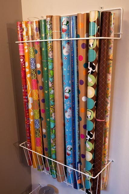 25 best ideas about Wrapping Paper Storage on Pinterest