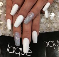 25+ best ideas about Long White Nails on Pinterest | Dope ...