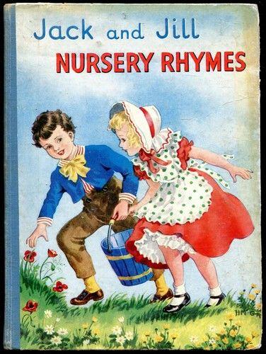 Jack and Jill Nursery Rhymes  eBay  Vintage Childrens