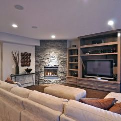 Living Room Furniture Arrangement With Corner Tv Colors India Fireplace | 1,230 Calgary Home ...