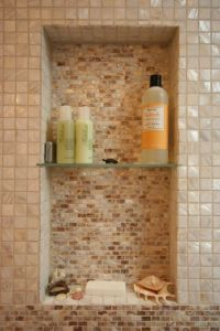 When putting a shower niche in an existing wall, 12w x 24 ...