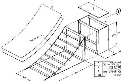 145 best images about Free Skateboard Ramp Plans on