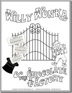 17 Best images about Charlie and the chocolate factory on