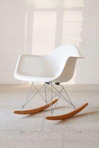 Modernica Fiberglass Arm Shell Rocking Chair | Urban ...