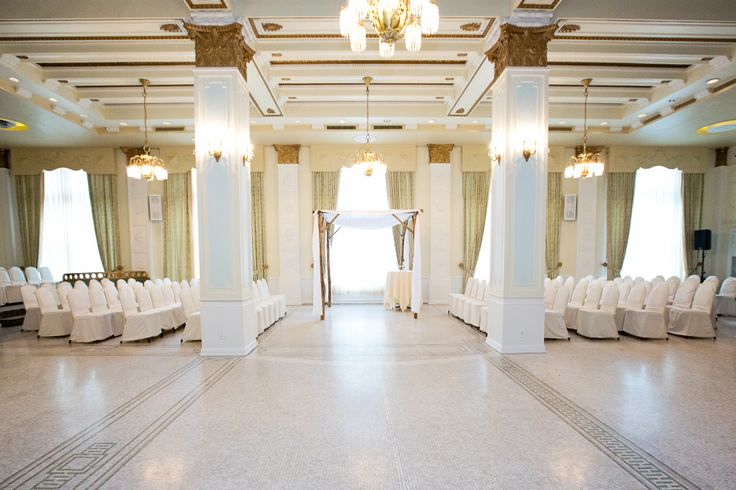 Ceremony Site  Crystal Ballroom  Hotel Lafayette