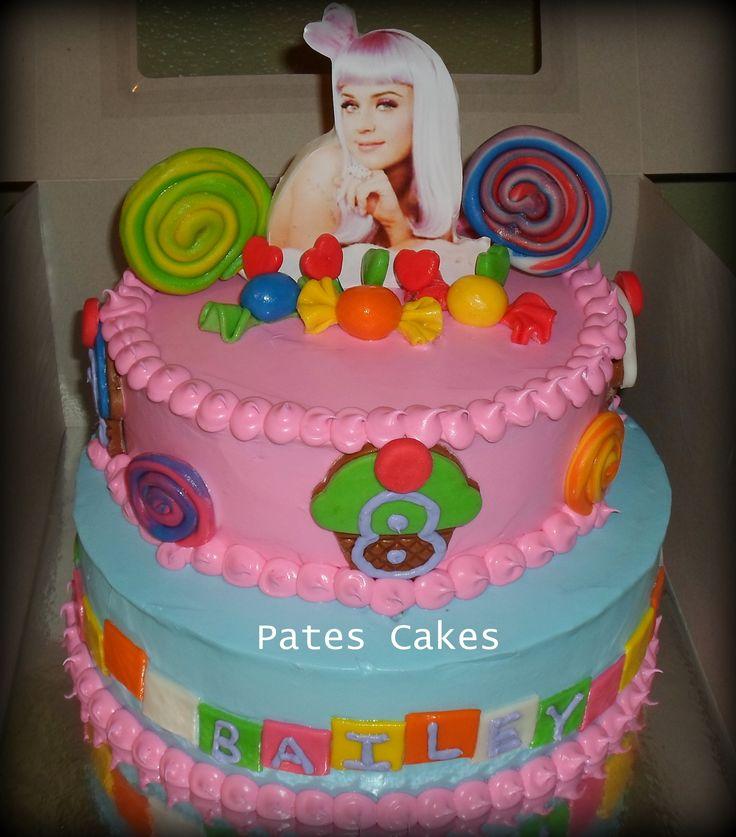 Katy Perry Birthday Cake Birthday Party Ideas