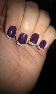 shellac nails wedding stuff