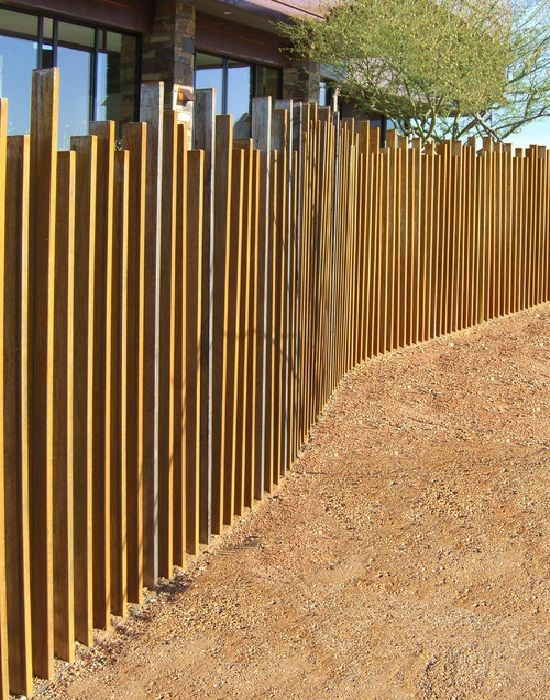 25 Best Ideas About Metal Fences On Pinterest Corrugated Metal