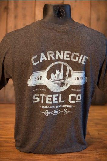 Industrialist Series  Carnegie Steel Company  TShirt