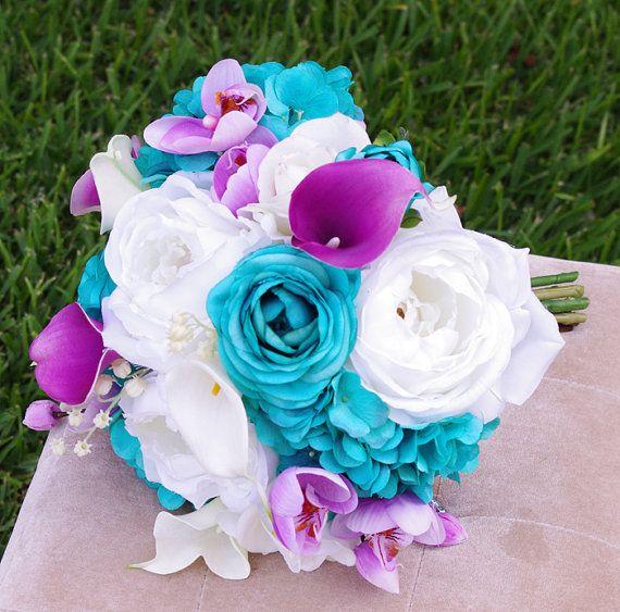 25 best ideas about Purple Turquoise Weddings on Pinterest  Purple teal weddings Purple
