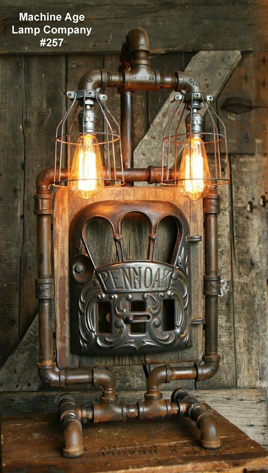 32 best images about Steampunk Lighting by Machine Age