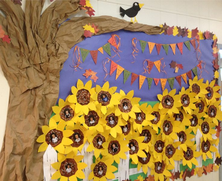 25 Best Ideas About Sunflower Bulletin Board On Pinterest Paper