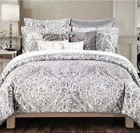 Amazon.com - Tahari Home 3pc Duvet Cover Set Paisley ...