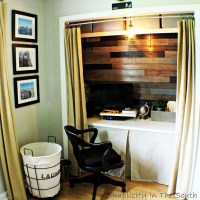 25+ best ideas about Closet turned office on Pinterest