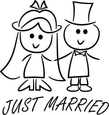 plott boda wedding just married  Bodas  Pinterest