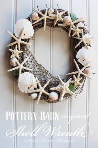Best 25+ Seashell wreath ideas on Pinterest | Shell wreath ...