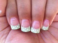 1000+ ideas about Summer French Nails on Pinterest
