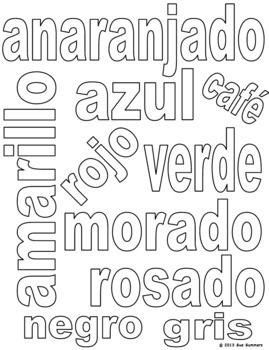 25+ best ideas about Spanish colors on Pinterest