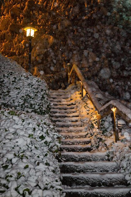 32 Best Images About Snowy Stairs On Pinterest  Snow