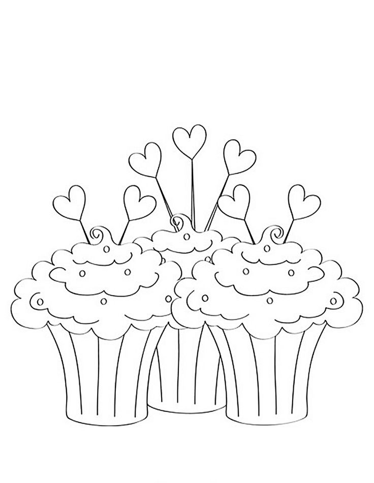 1000+ images about Cupcake colouring on Pinterest