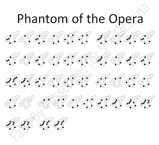 17 Best images about 12 Hole Ocarina Sheet Music on